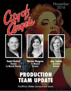 City of Angels Production Team Update