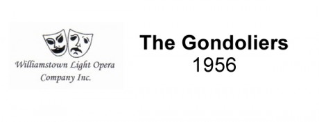The Gondoliers – 1956