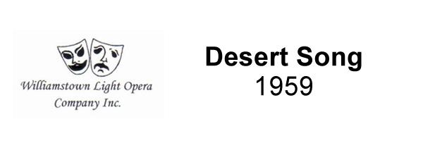 Desert Song – 1959