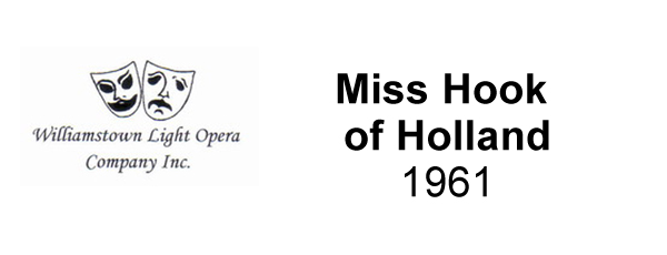 Miss Hook of Holland – 1961