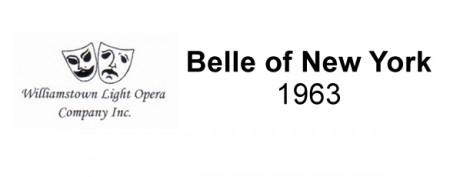 Belle of New York – 1963