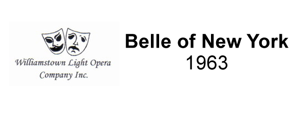 Belle of New York – 1963