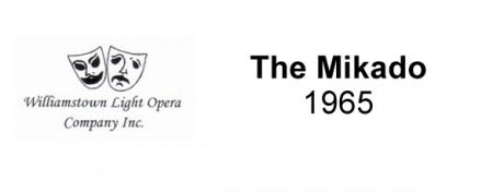 The Mikado – 1965