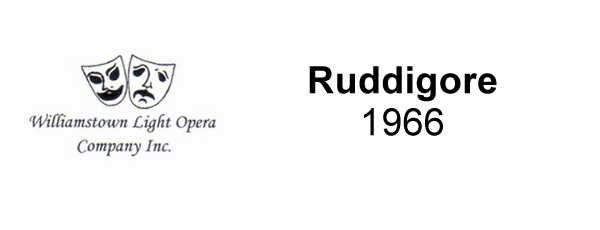 Ruddigore – 1966