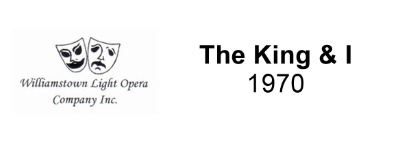 The King & I – 1970