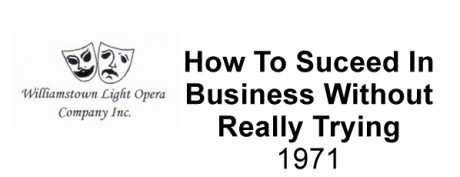 How To Succeed In Business Without Really Trying – 1971