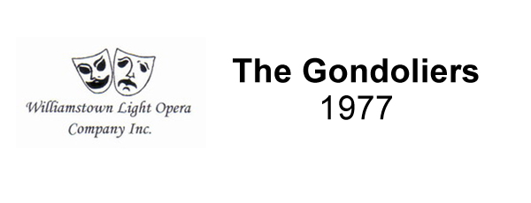 The Gondoliers – 1977