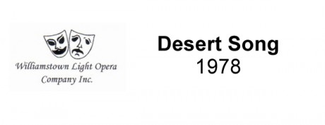 Desert Song – 1978