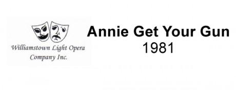 Annie Get Your Gun – 1981