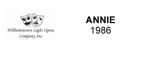 ANNIE – 1986