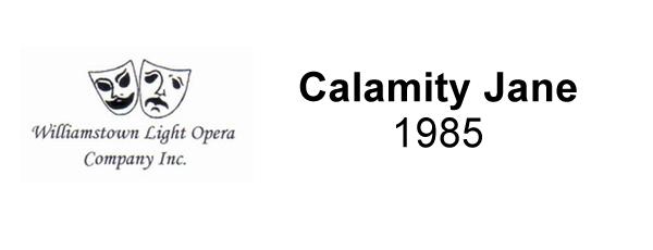 Calamity Jane – 1985