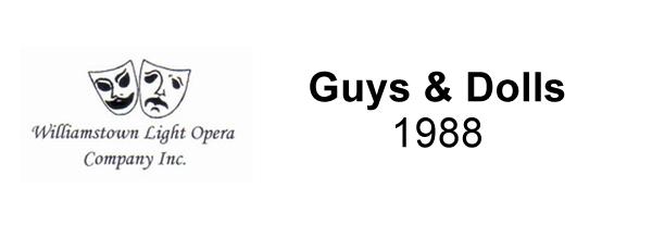 Guys & Dolls – 1988