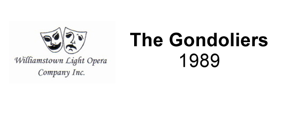 The Gondoliers – 1989
