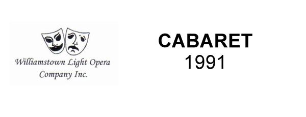 CABARET – 1991