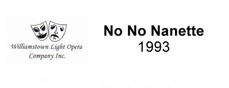 No No Nanette – 1993