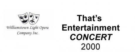 That's Entertainment (Concert) – 2000