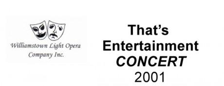 That's Entertainment (Concert) – 2001