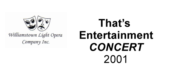 That's Entertainment (Concert) – 2001