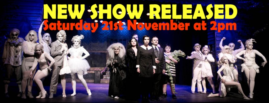 Another New Performance Added to Addams Family Season – Sat 21 Nov @ 2pm