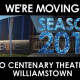 WE'RE MOVING! Centenary Theatre, Williamstown 2018