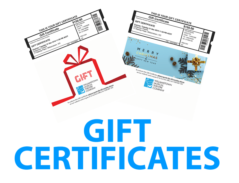 [NEW] Gift Certificates Now Available